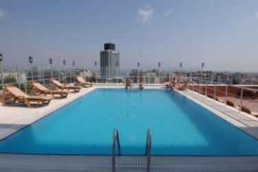 Hotel Taksim Gonen: Swimming Pool ISTANBUL