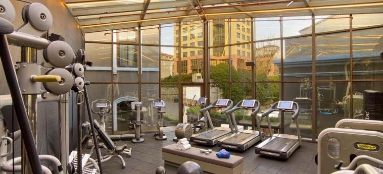 Hotel W Istanbul: Salle de Gym ISTANBUL