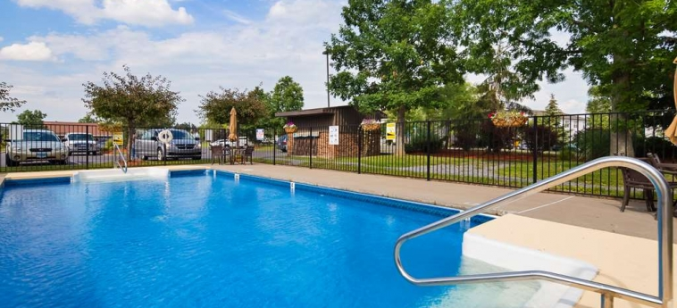 Hotel Best Western University Inn: Swimming Pool ITHACA (NY)