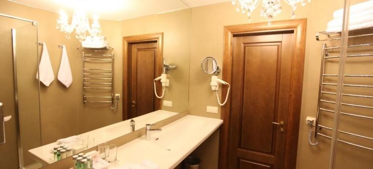 Hotel Nadiya: Salle de Bains IVANO-FRANKIVS'K