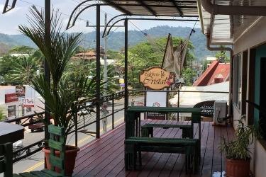 Hotel Hacienda Garcia: Vista JACO - PUNTARENAS