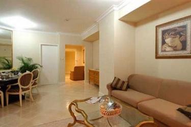 Batavia Apartment: Living Room JAKARTA