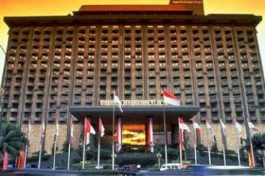 Hotel Sari Pacific Jakarta: Esterno JAKARTA