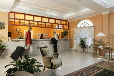 Hotel The Knutsford Court: Lobby JAMAICA
