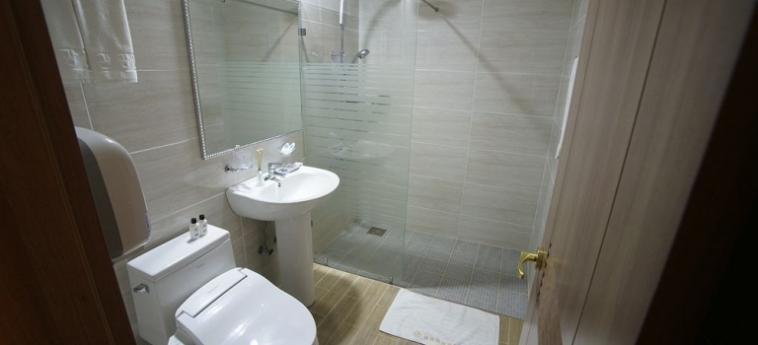 Amber Hotel: Badezimmer JEJU