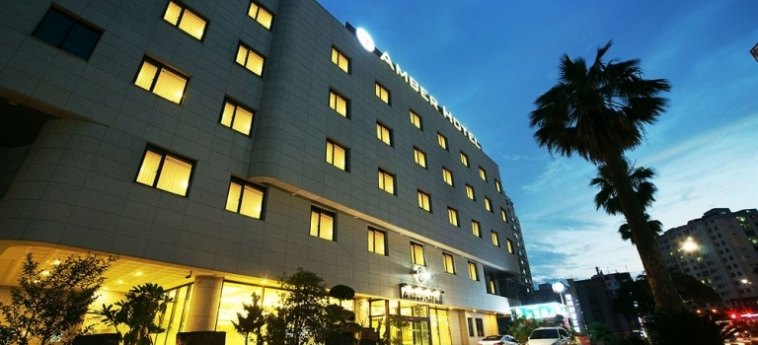 Amber Hotel: Balcony JEJU