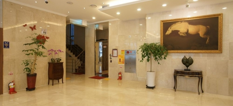 Amber Hotel: Lobby JEJU
