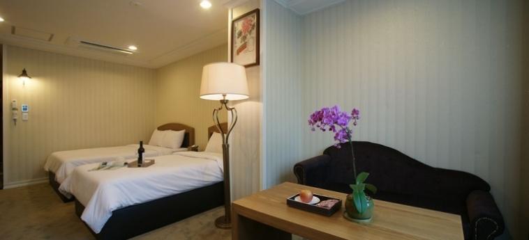 Amber Hotel: Solarium JEJU