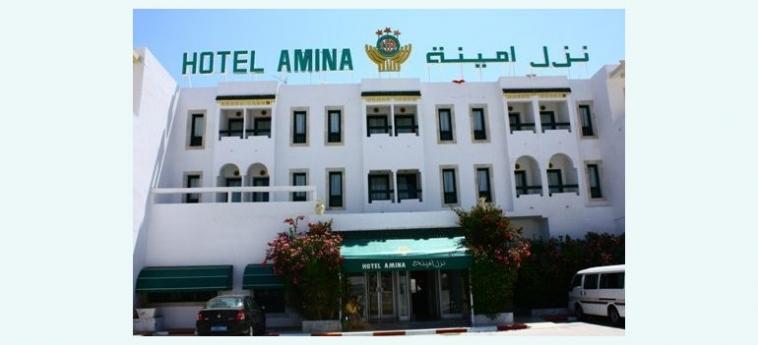 Hotel Amina: Außen KAIROUAN