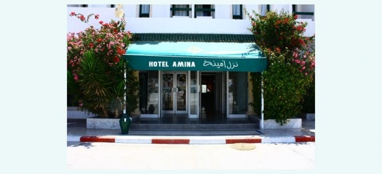 Hotel Amina: Eingang KAIROUAN