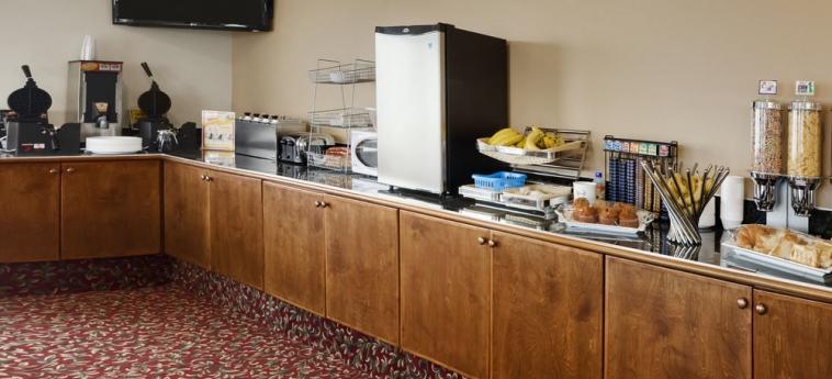 Hotel Days Inn Kamloops Bc: Zona colazione KAMLOOPS
