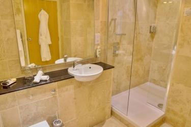 Hotel Cobo Bay: Badezimmer KANALINSELN
