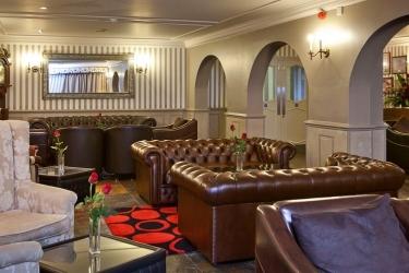 Hotel Cobo Bay: Hotelbar KANALINSELN