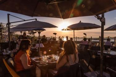 Hotel Cobo Bay: Essen KANALINSELN