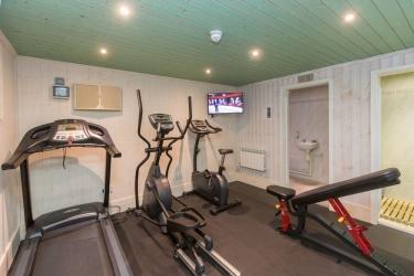 Hotel Cobo Bay: Fitnessraum KANALINSELN