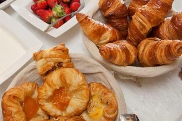 Hotel Cobo Bay: Frühstücksraum KANALINSELN