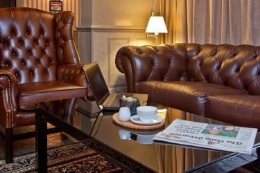 Hotel Cobo Bay: Lounge KANALINSELN