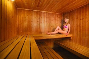Hotel Cobo Bay: Sauna KANALINSELN
