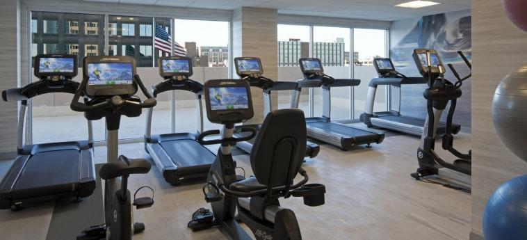 Hotel Kansas City Marriott Country Club Plaza: Salle de Gym KANSAS CITY (MO)