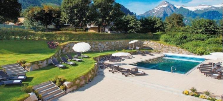 Hotel Das Alpenhaus Kaprun: Piscina Esterna KAPRUN