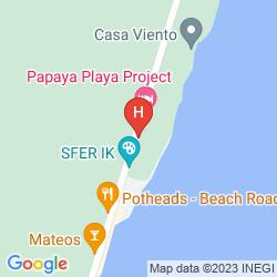 Karte PAPAYA PLAYA
