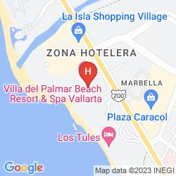 Karte VILLA DEL PALMAR BEACH RESORT & SPA