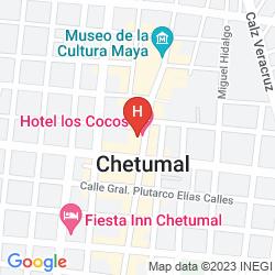 Karte LOS COCOS