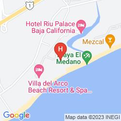 Karte VILLA LA ESTANCIA BEACH RESORT & SPA
