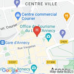 Karte LE PRÉ CARRÉ