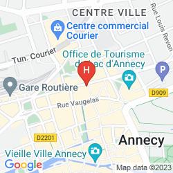 Karte HÔTEL DU NORD