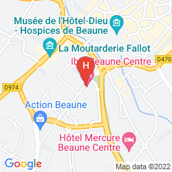 Karte IBIS BEAUNE CENTRE