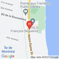 Karte LE NOUVEL HOTEL & SPA