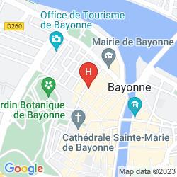 Karte BEST WESTERN LE GRAND