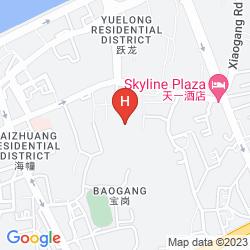 Karte ROSEDALE HOTEL & SUITES, GUANGZHOU