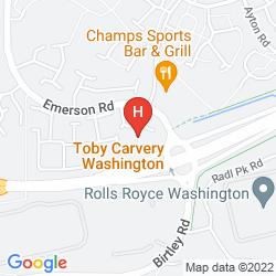 Karte CAMPANILE WASHINGTON