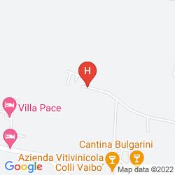 Karte AGRITURISMO FELICIANA