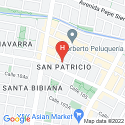 Karte CASA HOTEL ZUETANA 106