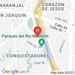 Karte PORTAL DEL RODEO APART HOTEL