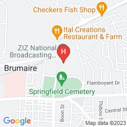 Karte SUGAR BAY CLUB SUITES & HOTEL