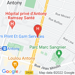 Karte ALIXIA ANTONY