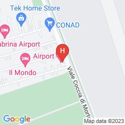 Karte AIRPORT ONE HOTEL