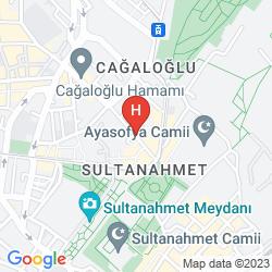Karte VOGUE HOTEL SUPREME ISTANBUL