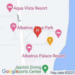 Karte AQUA BLU RESORT