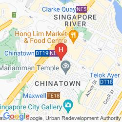 Karte PORCELAIN HOTEL