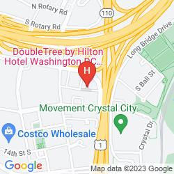 Karte DOUBLETREE BY HILTON HOTEL WASHINGTON DC-CRYSTAL CITY