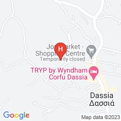 Karte HOTEL ELIANA