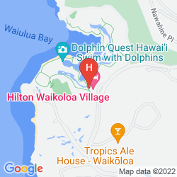Karte HILTON WAIKOLOA VILLAGE