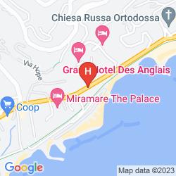 Karte MIRAMARE DIPENDENZA