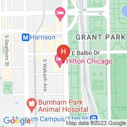 Karte HILTON CHICAGO