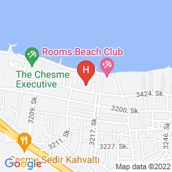 Karte 7800 CESME HOTEL